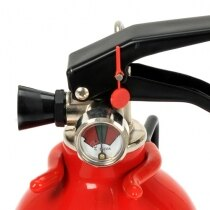 Gloria fire extinguisher easy to read pressure gauge