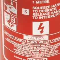 CO2 extinguishers are suitable for use on class B and electrical equipment fires