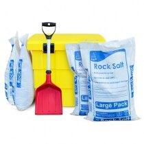 Safelincs winter safety kit - grit bin, de-icing salt and shovel