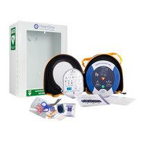 HeartSine Samaritan 500P with Cabinet and Prep Kit