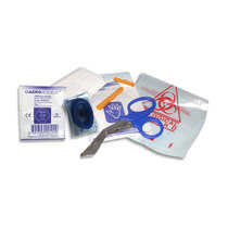 Bundle includes a defibrillator responder kit