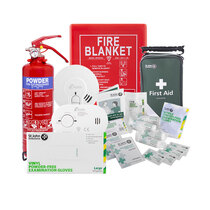 Safelincs COVID-19 Home Isolation Family Safety Kit - With Optional Alarms