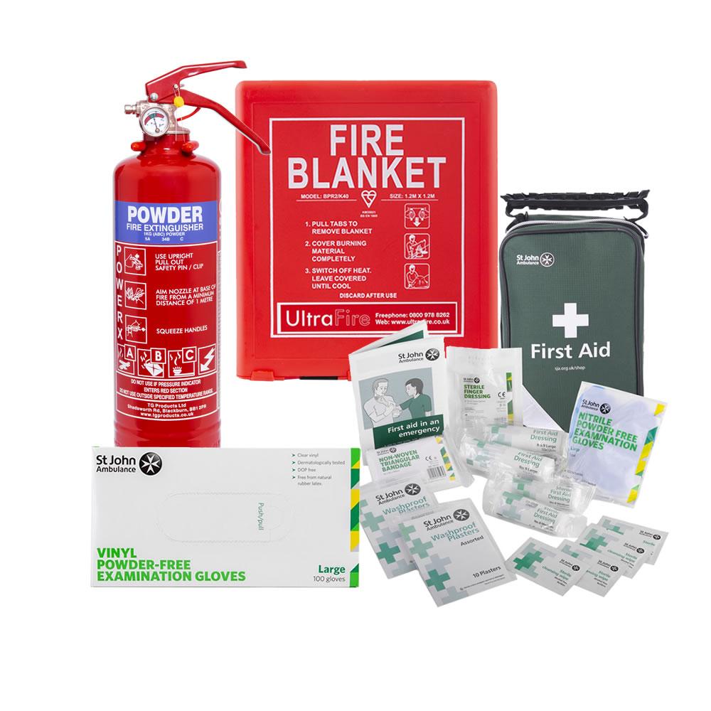 Safelincs COVID-19 Home Isolation Family Safety Kit