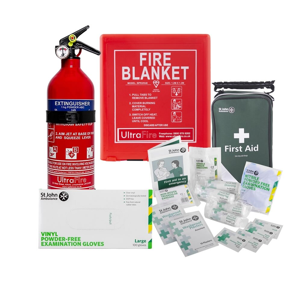 Home Isolation Family Safety Kit - without Alarms