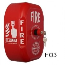 Howler Standard Site Alarm with Push on/key off Switch