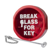 Hammer and Chain for Keybox