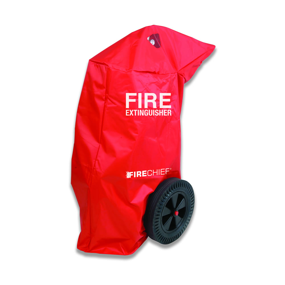 100kg/ltr Wheeled Fire Extinguisher Cover