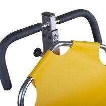 Top handle is adjustable to suit operator