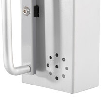 Alarmed bolts: Integrated sounder, giving a loud audible alarm of approximately 105dB
