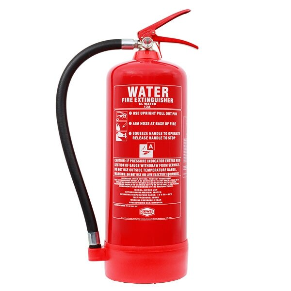 Jewel 6ltr water fire extinguisher