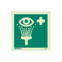 Emergency Eye Wash - Square sign without text - 150 x 150mm