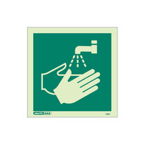 Hand Wash Facility - square sign without text - 150 x 150mm