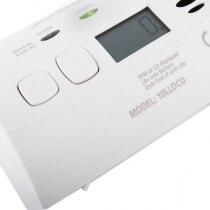 Loud 85dB alarm sounder warns occupants of danger