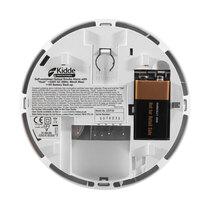 Kidde Slick Optical Smoke Alarm with Alkaline Battery Backup