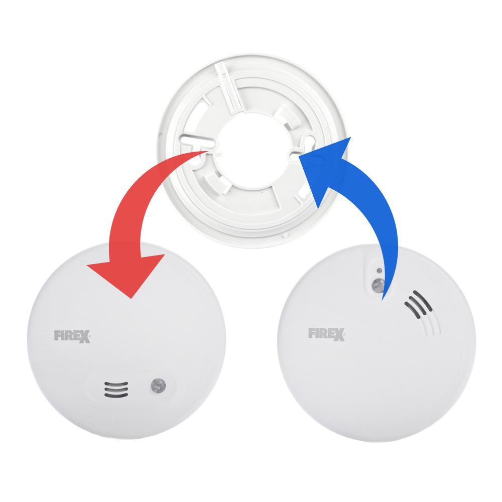 Replacement for Kidde KF10 Smoke Alarms