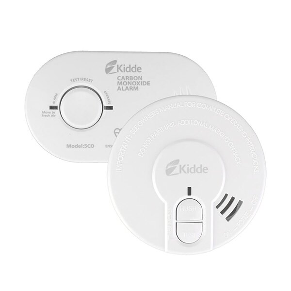 Kidde 5CO Carbon Monoxide Detector & 29HD Optical Smoke Alarm Special Offer