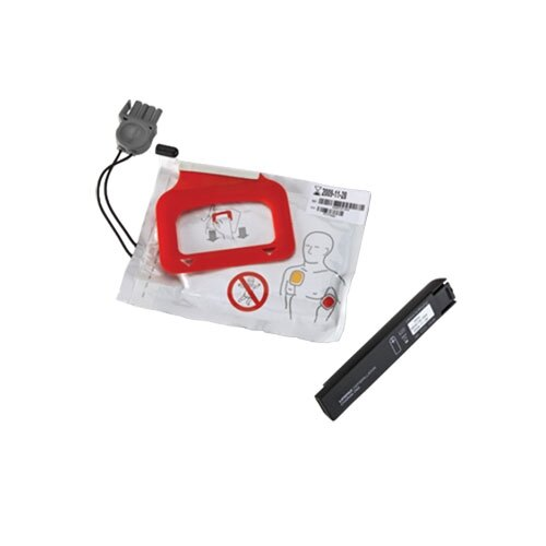 Lifepak® CR Plus CHARGE-PAK and 1 Electrode Set Replacement Kit