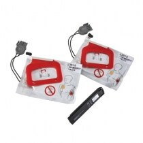 Lifepak® CR Plus CHARGE-PAK and 2 Electrode Sets Replacement Kit