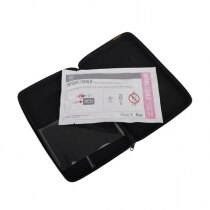 Single use defibrillation electrode pads with 18 months Shelf Life