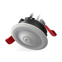 Supplied with an emergency light plugin to fit within the light