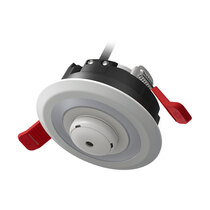 Supplied with a carbon monoxide alarm to fit within the light