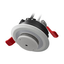 Supplied with a smoke alarm to fit within the light