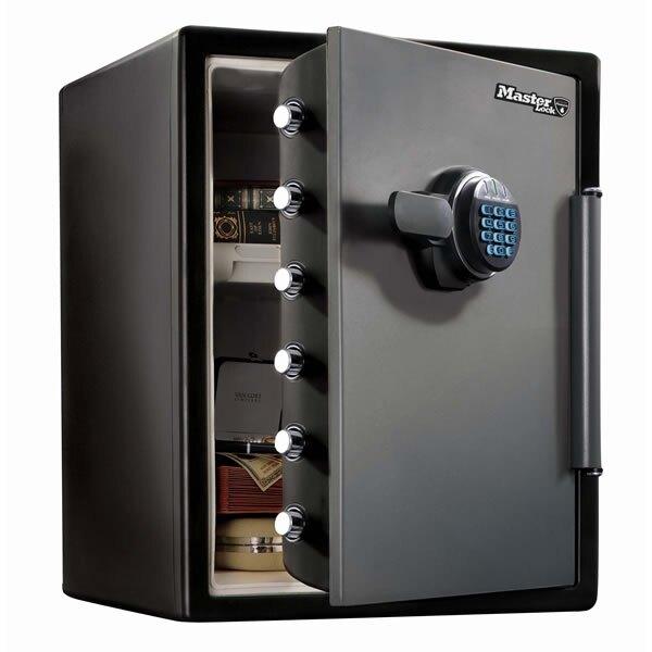master lock lfw205fyc fire and water proof safe ex vat. Black Bedroom Furniture Sets. Home Design Ideas