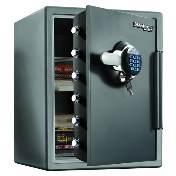 Master Lock LTW205GYC - Fire and Water Proof Safe