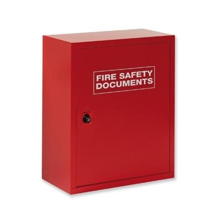 Metal Storage Cabinet With Keylock For Fire Safety Documents