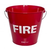 Metal Fire Bucket Without Lid