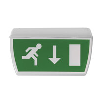 LED IP65 Maint Exit Sign - Arrow Down