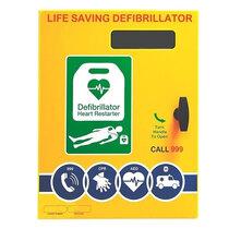 2000 Model Defibrillator Cabinet