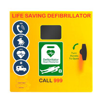 1000 Model Defibrillator Cabinet