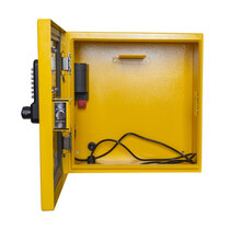 Internal hook to accommodate any defibrillator and their carry case