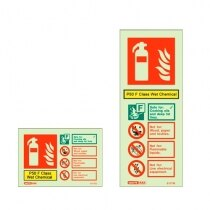 Extinguisher sign - P50 Wet Chemical