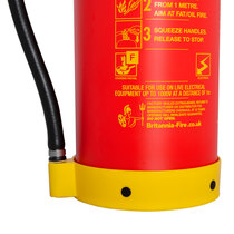 Specifically designed to tackle cooking fat fires with an extinguisher rating of 75F