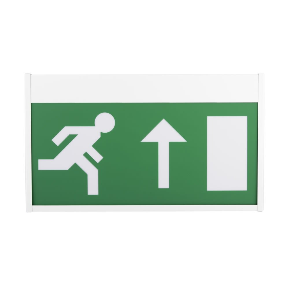 Single-Sided LED Emergency Fire Exit Sign - Paloma