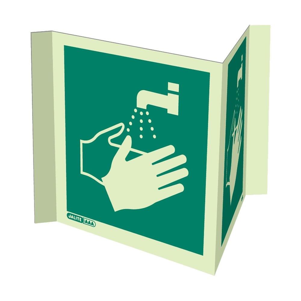 Panoramic Hand Washing Facility Signs
