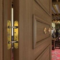 Perko Powermatic door closers have an unobtrusive design