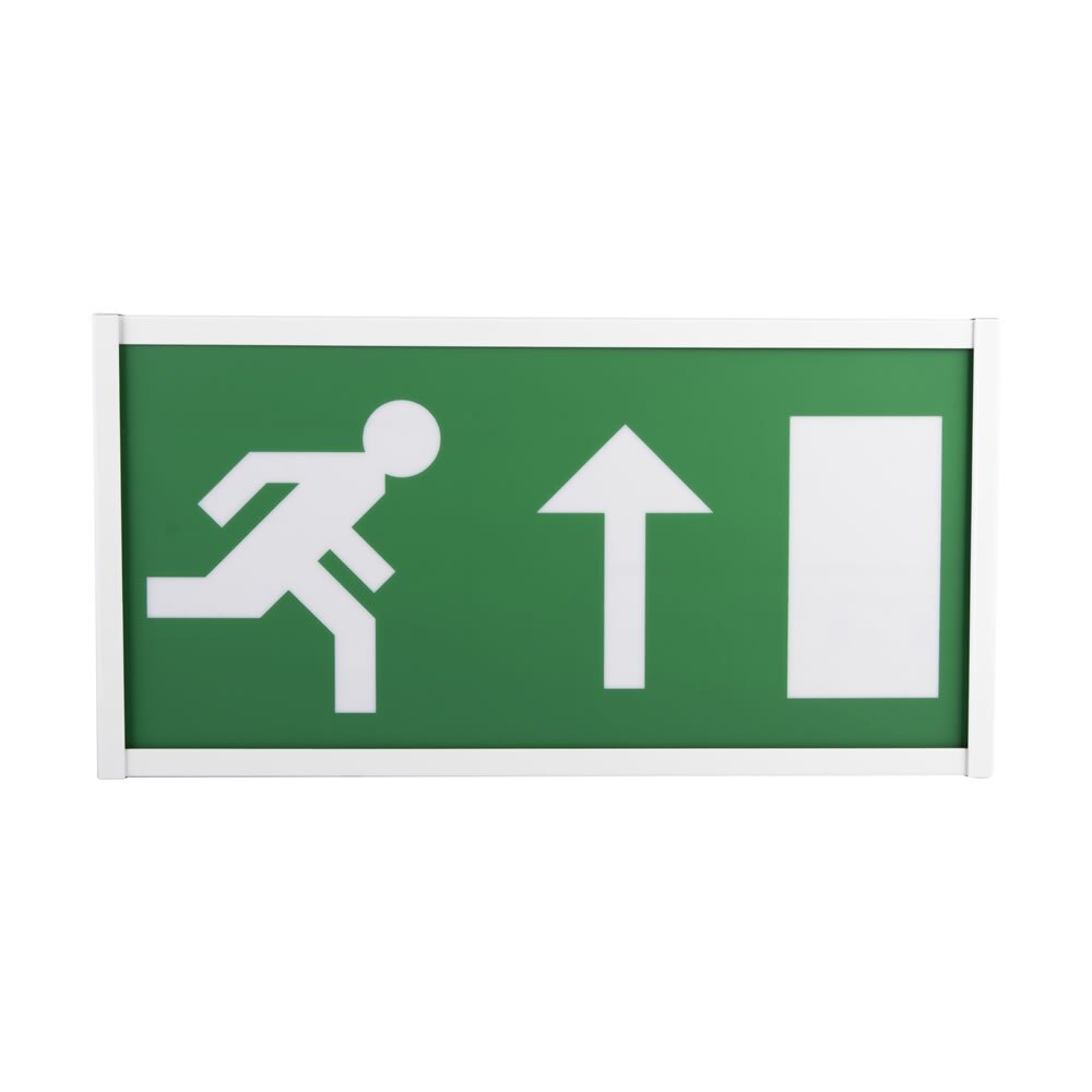 Single-Sided LED Emergency Fire Exit Sign - Pescara