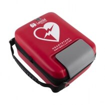 Highly visible red finish allows the case to be located quickly in an emergency