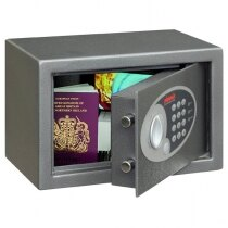 The Phoenix Vela safe is suitable for home and office use.