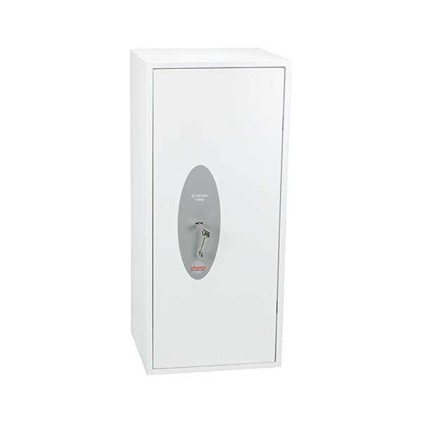 Fitted with a VdS class I double bitted key lock
