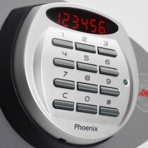 The Phoenix Titan 1282 safe electronic lock with LED display