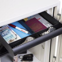 Supplied with a pull out drawer for easy organisation