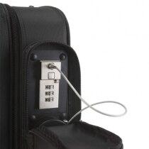 The Phoenix Venice SC0084C laptop case has a built in steel security cable