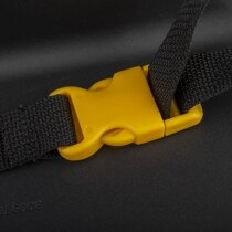 Features a handy clip strap to help secure the defibrillator in place