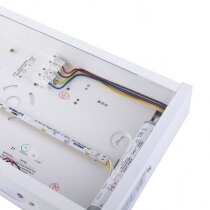 Uses energy saving, high performance LEDs