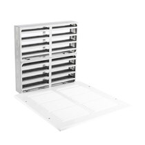 Fire Rated Air Transfer Grille & Face Plate for 2250 (White)