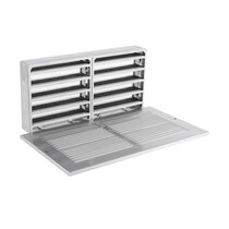 Fire Rated Air Transfer Grille & Face Plate for 1503 (Silver)